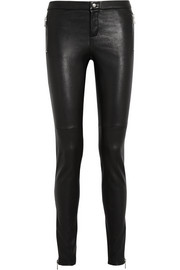 Gucci Leather skinny pants