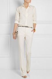 Gucci Wool-twill flared pants