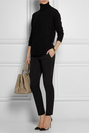 Gucci Stretch wool and silk-blend skinny pants