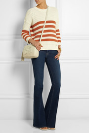 Gucci Striped cotton-blend sweater