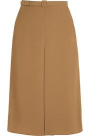 Pleated cady skirt
