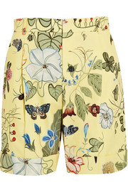 Gucci Printed cotton-canvas shorts