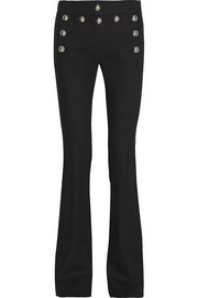 Gucci Stretch cotton-blend flared pants