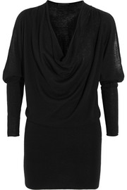 Donna Karan New York Cutout cashmere mini dress