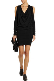 Donna Karan Cutout cashmere mini dress