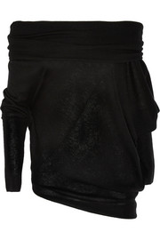 Donna Karan New York Asymmetric cashmere sweater