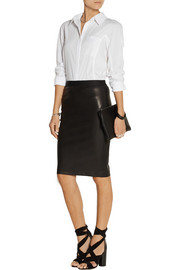 Donna Karan Cotton-poplin shirt