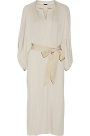 Donna Karan New York Belted stretch-jersey dress