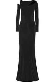 Donna Karan New York Cutout stretch-jersey gown