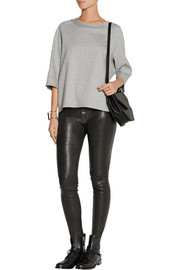 Donna Karan Cotton-blend top