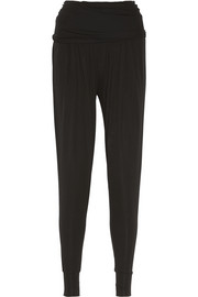 Donna Karan Matte-jersey tapered pants