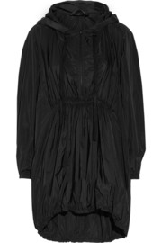 Donna Karan New York Oversized hooded shell parka