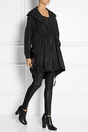 Donna Karan Oversized hooded shell parka