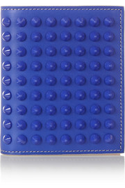 Paros spiked leather wallet
