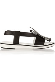 Nicholas Kirkwood Roksanda bow-embellished leather sandals