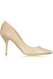 Mei patent-leather pumps
