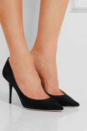 Jimmy Choo Agnes suede pumps