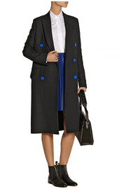 Proenza Schouler Double-breasted wool-blend twill coat