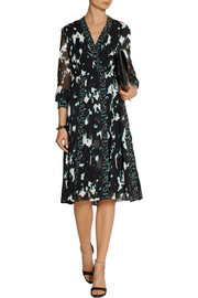 Proenza Schouler Printed silk-chiffon dress