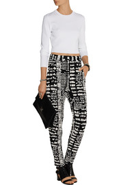 Proenza Schouler Jacquard tapered pants