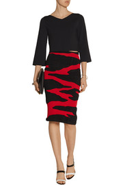 Proenza Schouler Stretch-knit midi skirt