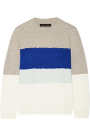 Proenza Schouler Color-block cashmere sweater