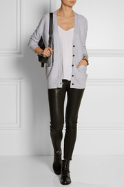 Proenza Schouler Silk, cotton and cashmere-blend cardigan