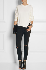 Proenza Schouler Cotton and cashmere-blend sweater