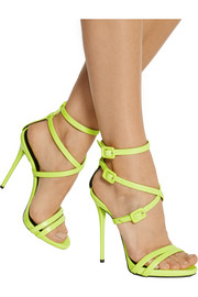 Giuseppe Zanotti Neon leather sandals