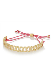 Solidly Linked gold-tone bracelet