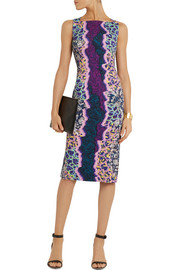 Peter Pilotto Kia printed stretch-jersey dress