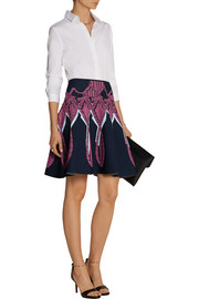 Peter Pilotto Jacquard-knit skirt