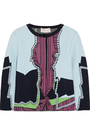 Peter Pilotto Jacquard-knit cardigan