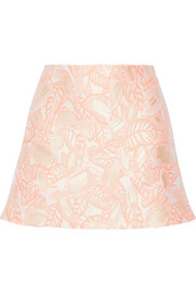 Jacquard mini skirt