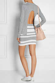 Opening Ceremony Open-back stretch-jersey mini dress