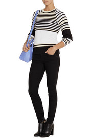 Opening Ceremony Striped ribbed cotton sweater