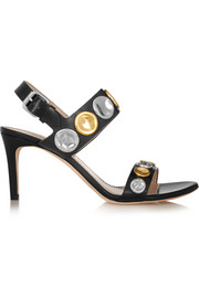 Marc Jacobs Embellished leather sandals