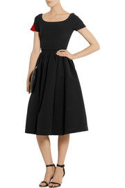 Everly stretch-crepe dress