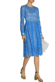 Hayden guipure lace dress