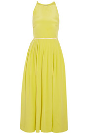 Preen by Thornton Bregazzi Pansy silk-crepe midi dress
