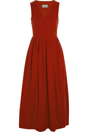 Carine stretch-crepe dress