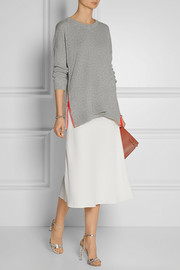 Preen by Thornton Bregazzi Kelsey oversized wool and cashmere-blend sweater