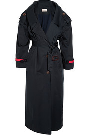 Corey cotton-gabardine trench coat