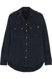 Joseph Gary washed-silk shirt