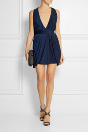 Haney Miranda jersey mini dress