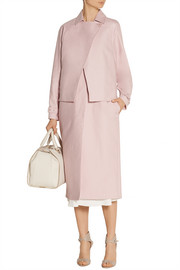 Tibi Cotton-blend gabardine trench coat