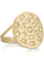 Brooke Gregson 14-karat gold diamond ring