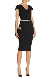 Victoria Beckham Draped stretch-jersey dress