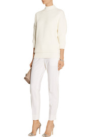 Victoria Beckham Cotton-blend turtleneck sweater