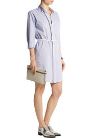 Victoria Beckham Striped cotton shirt dress